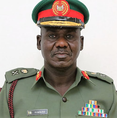 The Army Chief, Buratai