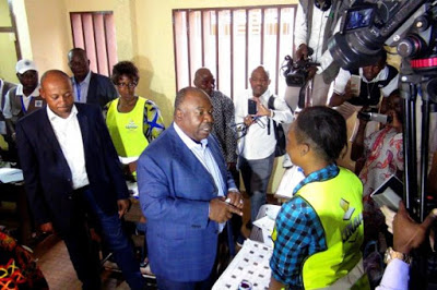 Photo of JUST IN: Gabon's President Bongo re-elected, Senate set on fire