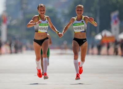 Photo of Rio Olympic: Twins Finish Marathon Hand in Hand, but drew sharp criticism