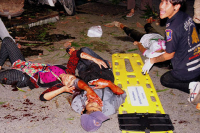 Photo of Thailand Explosions: Four people confirmed dead, dozens injured
