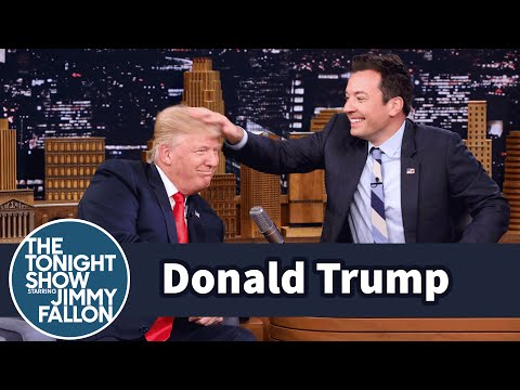 Photo of Jimmy Fallon Mocks Donald Trump's Voice Changing With 3 Hilarious Impressions