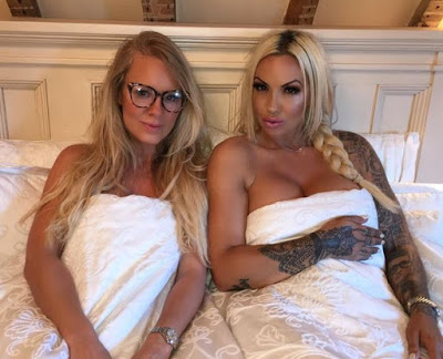 Photo of Jodie Marsh gets into bed with shooter Rachel Carrie