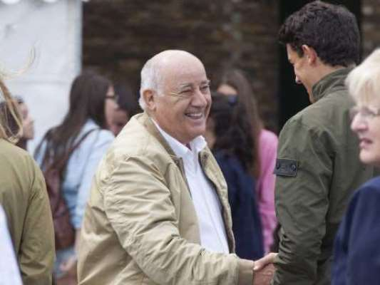 Amancio Ortega World's second richest