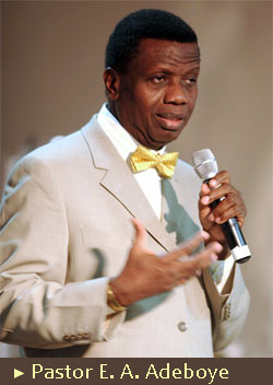 Being quiet doesn't mean I'm silent - Pastor Adeboye
