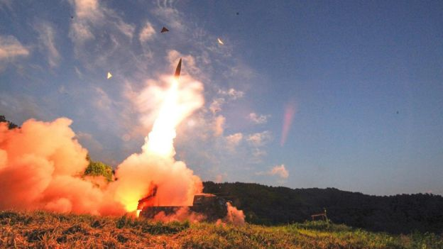 Photo of North Korea nuclear test: South holds live-fire missile drill