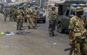 Photo of Soldiers deployed as Hausa youths protest in Benue