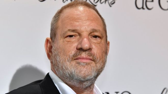 "Photo of Harvey Weinstein ""is finally about to be arrested"" over serial sex assault allegation"