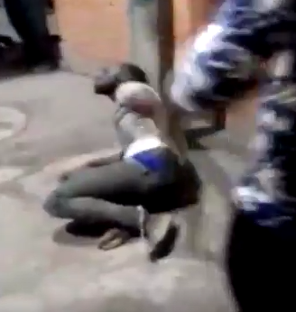 Photo of Shocking Video: Nigerian student tied to pole and brutally beaten in India over alleged theft