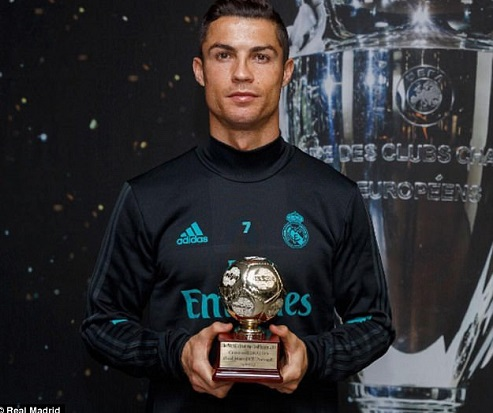 Photo of Cristiano Ronaldo crowned the IFFHS world's best goalscorer for 2016
