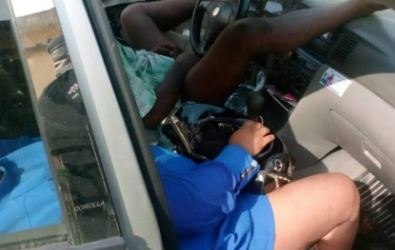 Photo of Disturbing photos of the lovers who were found dead inside a car in Ogba, Ikeja