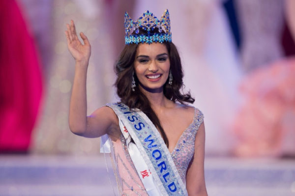 Photo of India's Manuchi Chhillar new Miss World