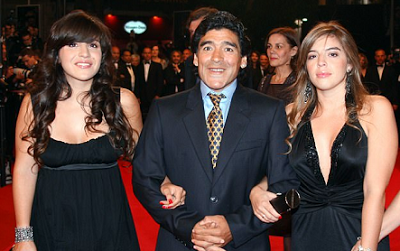Photo of Diego Maradona wants daughter jailed for alleged stealing his £3.4m