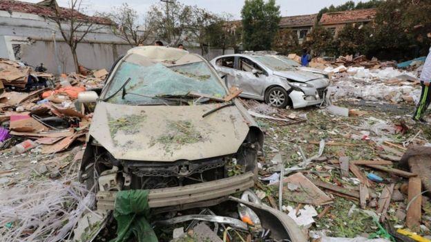 Photo of China explosion: Ningbo port city rocked by deadly blast