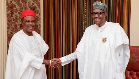 Photo of Governor Willie Obiano meets Buhari(Photos)