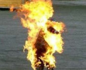 Nigerian man sets son ablaze over quarrels with brother