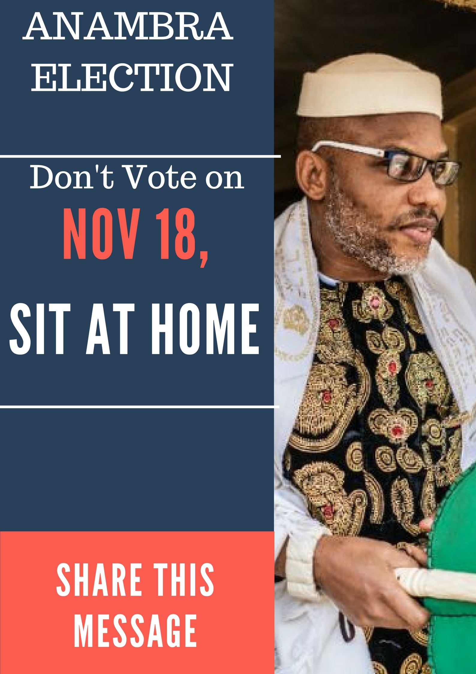 Photo of Anambra Poll: Do not vote, sit at home
