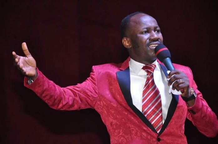 Photo of End SARS: Apostle Suleman places curses on killers of Lekki protesters