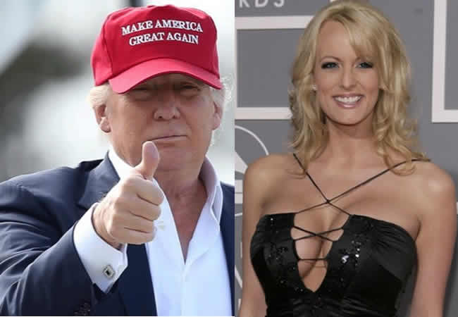 Trump and Adult film star, Stormy Daniels