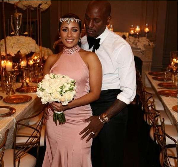 Tyrese Gibson and wife Samantha expecting their first child together