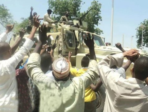 Photo of Nigerian Army rescues over 1000 Boko Haram captives