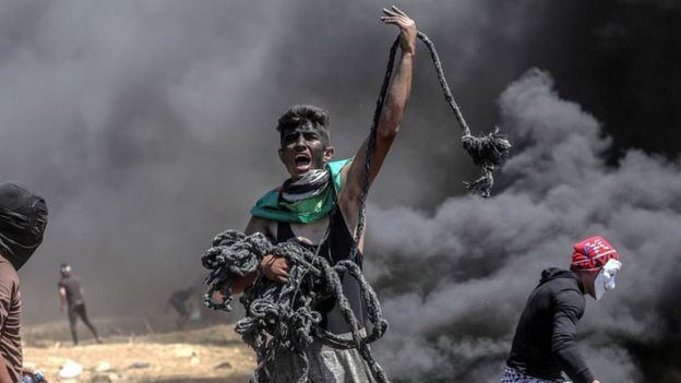 Photo of Gaza Violence: Israel defends actions as 55 Palestinians killed