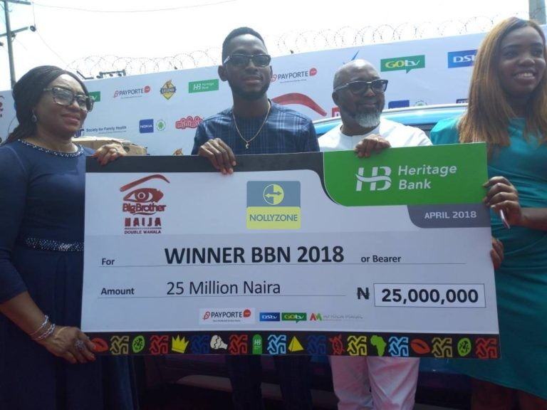Photo of BBNaija 2018 Winner, Miracle reveals why he will pay tithe