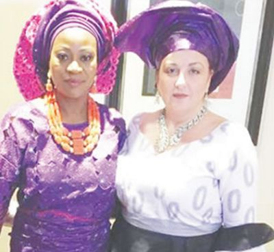 Photo of Lady who got married to her US Lesbian partner visits Ibadan, says she was so scared of coming home