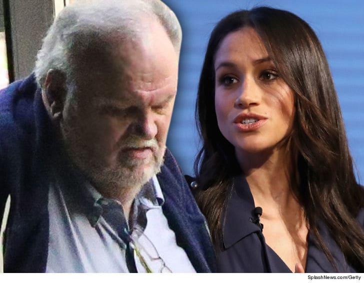 Photo of Meghan Markle's Dad Thomas to Undergo Heart Surgery and Can't Attend Wedding