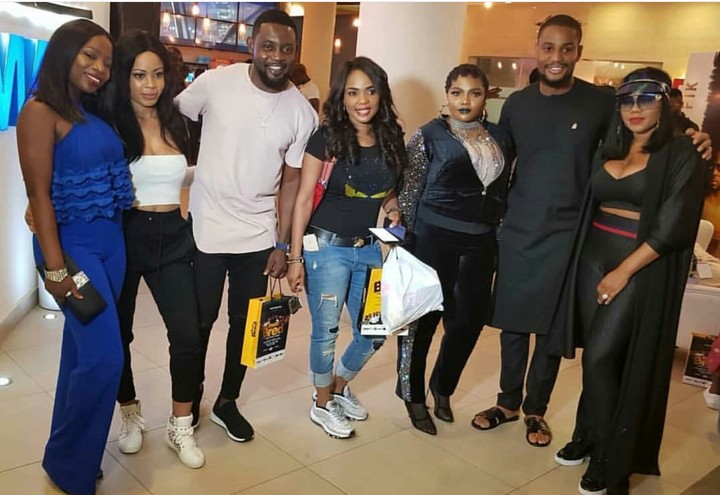Photo of BBNaija: Nina spotted with AY, Iyabo Ojo, Others