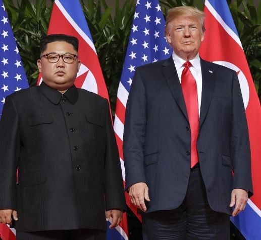 Trump finally meets Kim Jung-un, says 'The fact that I am having a meeting with North Korea is a major loss for the losers and haters'