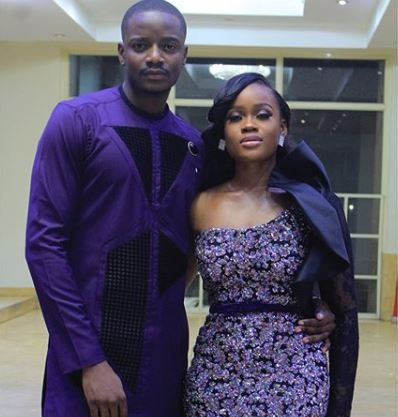 Photo of Beautiful photos of Cee-c and Leo rocking matching outfits
