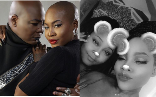 Photo of Charly Boy's daughter, Dewy Oputa shows off lesbian partner (Video)
