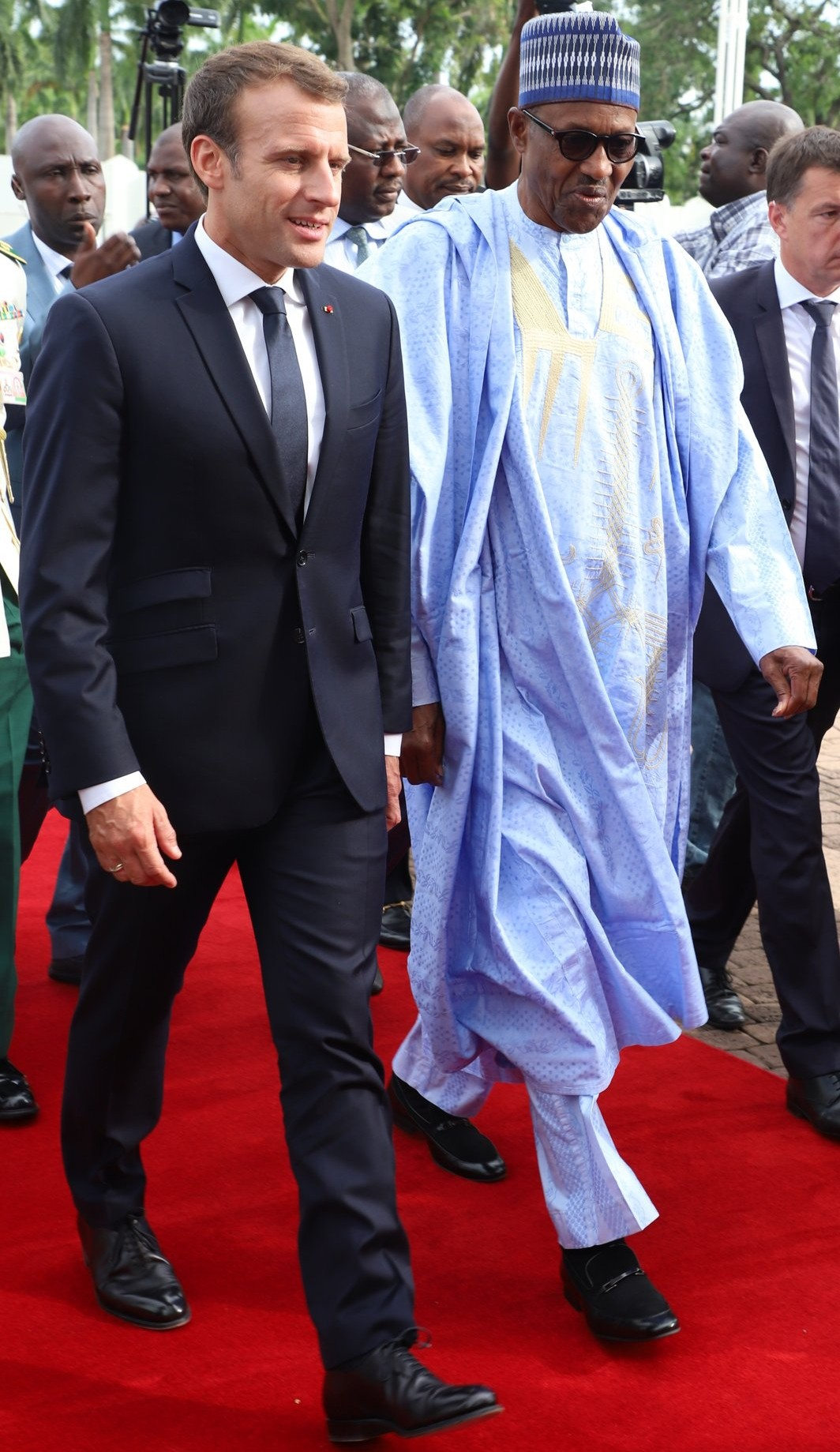 Photo of French president Emmanuel Macron arrives Nigeria on 2-day working visit