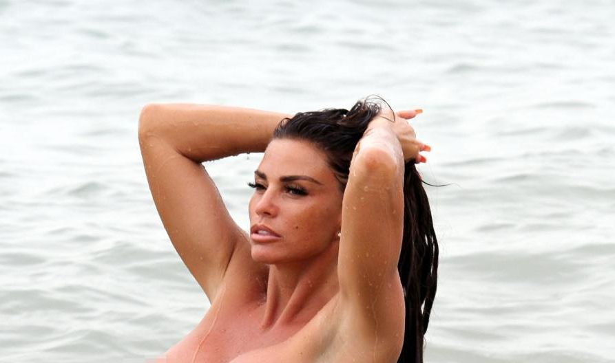 Katie Price spotted completely nak'd with boyfriend Kris at beach in Thailand