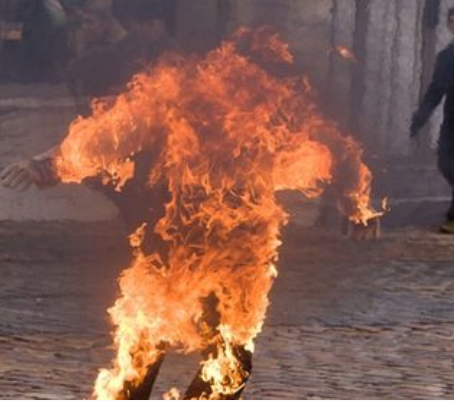 Man sets sister ablaze for insulting mother in Lagos