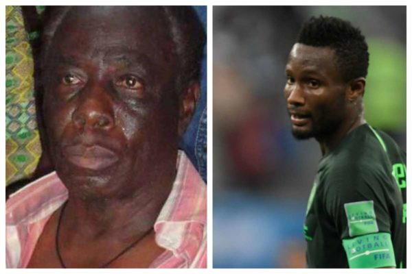 Photo of Mikel hasn't called me in 5 yrs, but kidnappers think he sends millions to me – Father