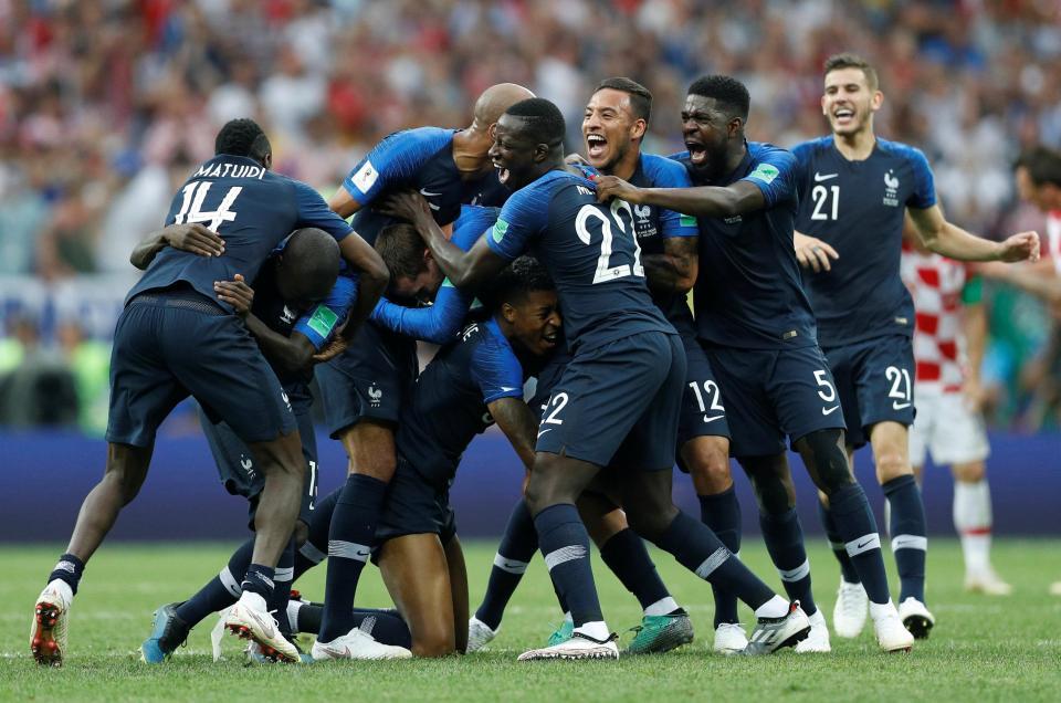France 4 Croatia 2