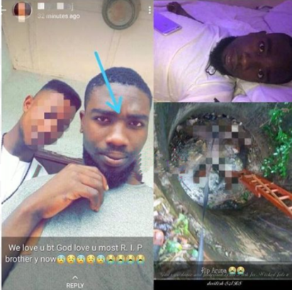 Final year student chased by SARS, dies after falling into a well