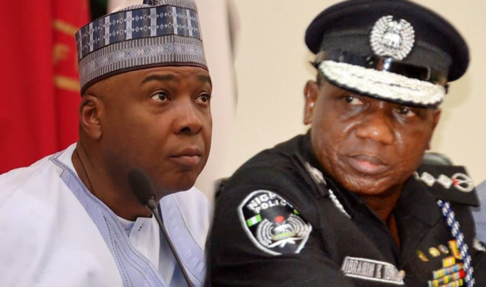 Police grill Saraki in National Assembly
