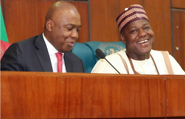 Photo of National Assembly invasion: It's a coup against democracy – Saraki, Dogara