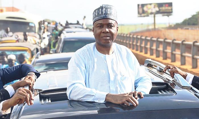 Photo of Saraki mulls presidential bid, promises change
