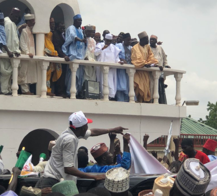 Sokoto state governor, Aminu Tambuwal, defects from APC to PDP