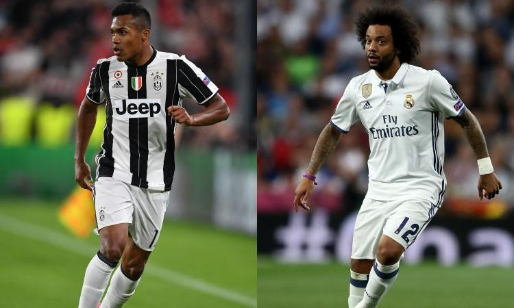 Real Madrid likely to swap Marcelo for Juventus' Alex Sandro,