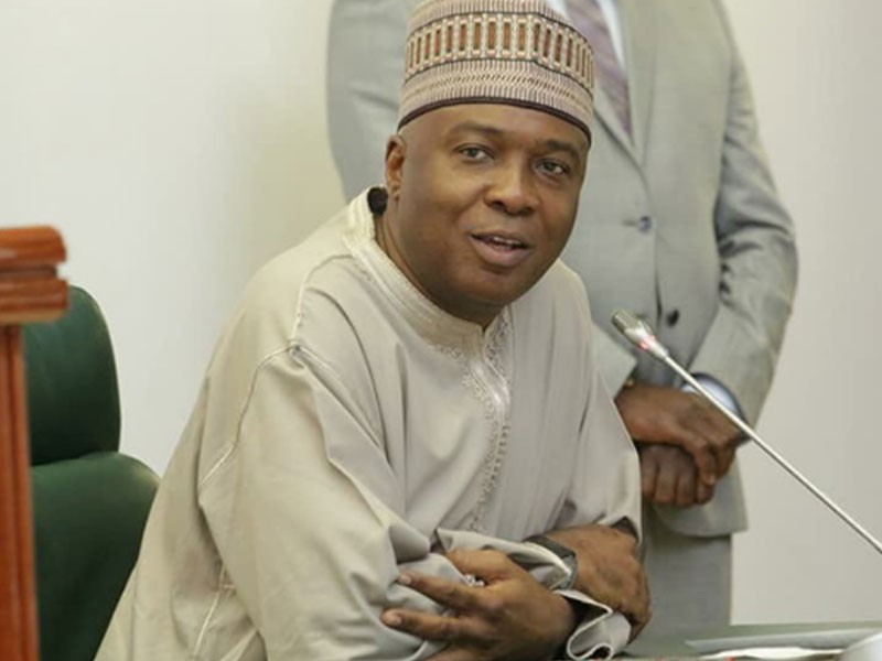 Buhari presiding over a divided Nigeria, says Saraki