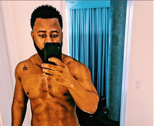 Photo of South African rapper, Cassper Nyovest shares semi-nude photo with glimpse of his pubic hair on display
