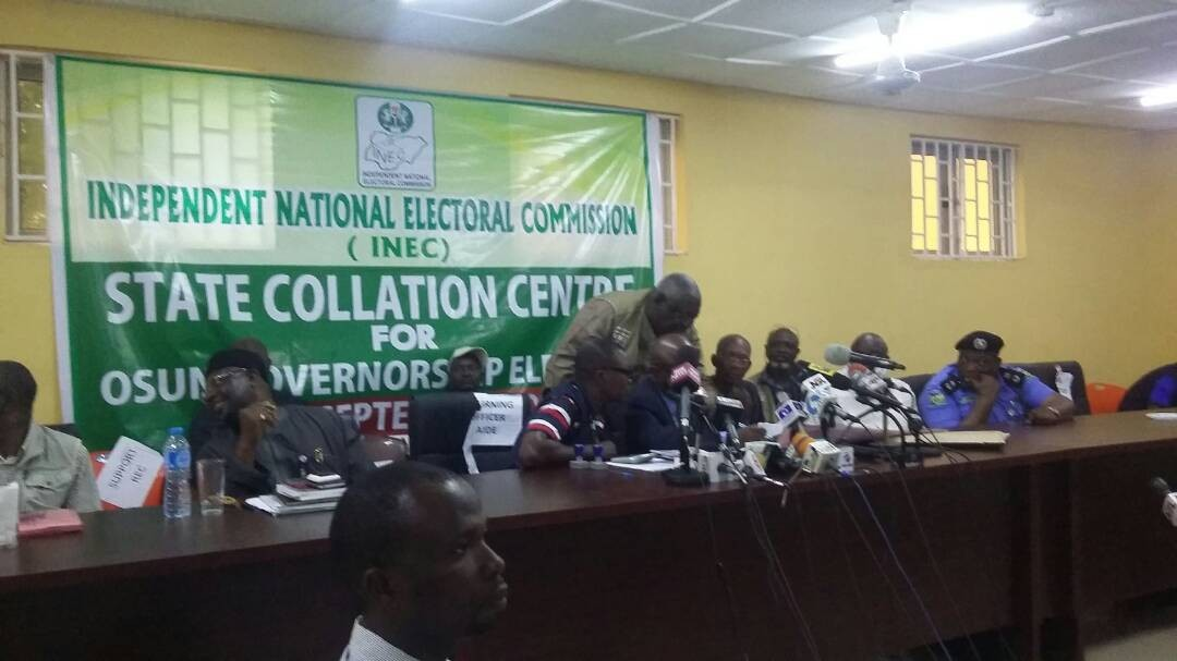 Breaking: Osun governorship election declared inconclusive