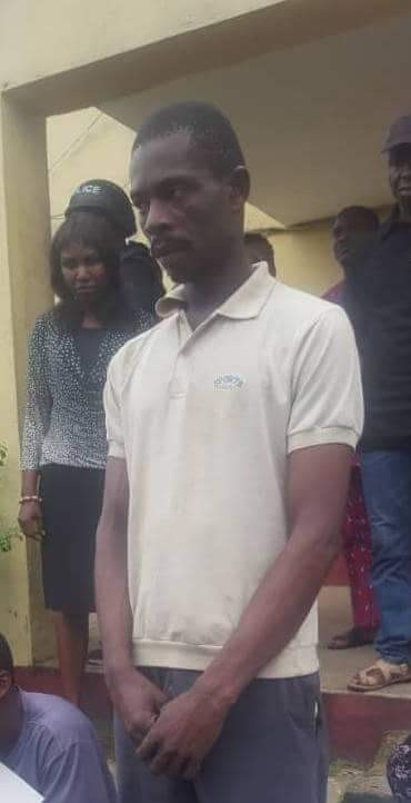 Photo of Pastor arrested for raping his 7-year-old daughter in Cross River state