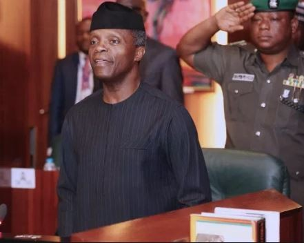 Photo of Only 14 ministers present as VP Yemi Osinbajo presides over the FEC meeting
