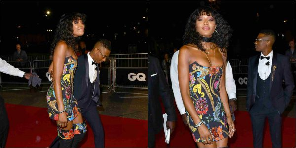 Photo of Wizkid and Naomi Campbell spotted at GQ Men Of The Year Awards