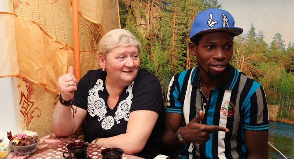 Photo of Nigerian man, 32, married to 50-year-old Russian woman dies of massive heart attack at a club